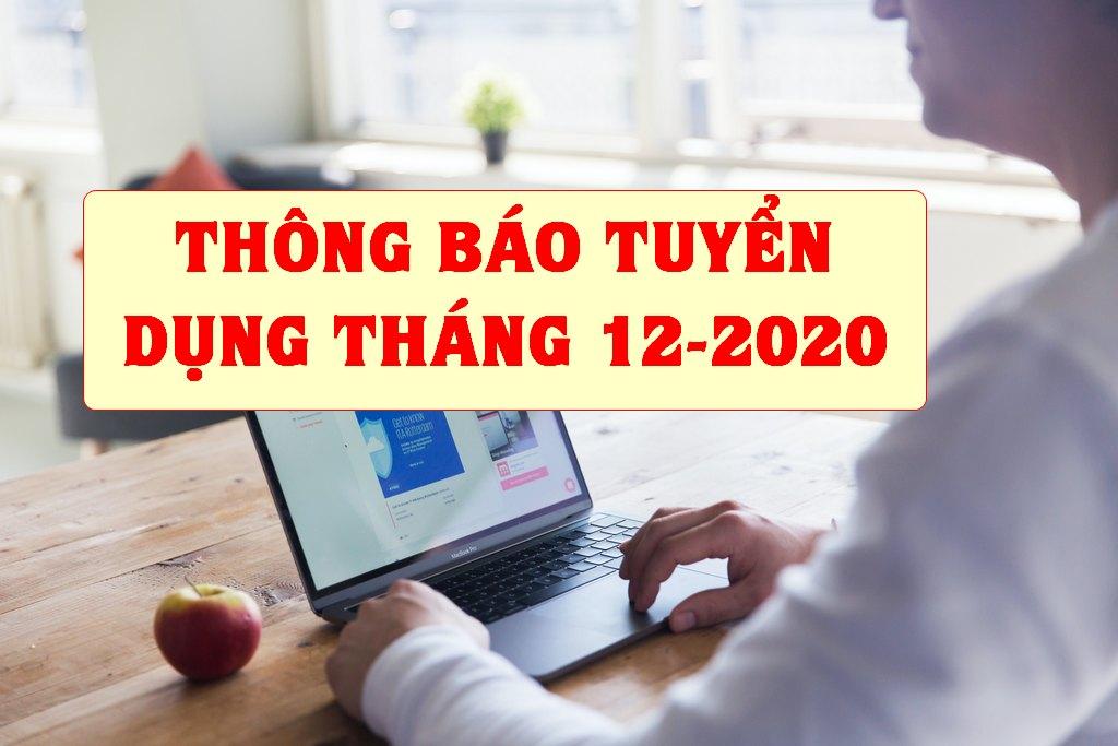 Thông báo tuyển dụng tháng 12-2020: Tuyển dụng Phó Trưởng phòng Kinh doanh -  Nhân viên bán hàng online - kinh doanh giống cây trồng