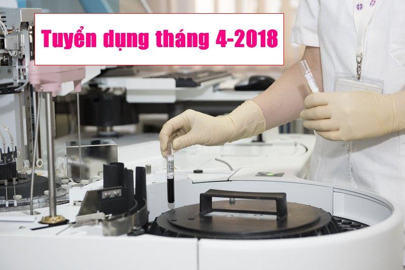 Tuyển nhân viên thử nghiệm Sinh học đồng ruộng và phòng thí nghiệm 04-2018